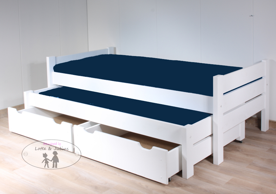 Kinderbed Tienerbed Combi Perfect Kinderbed Logeerbed En